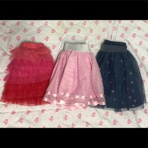 Lot of 3 Skirts NWT to VVGUC Size 6mon-18mon